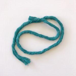 corde peignée turquoise