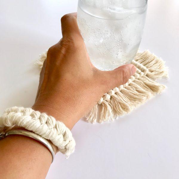 bracelet en macramé