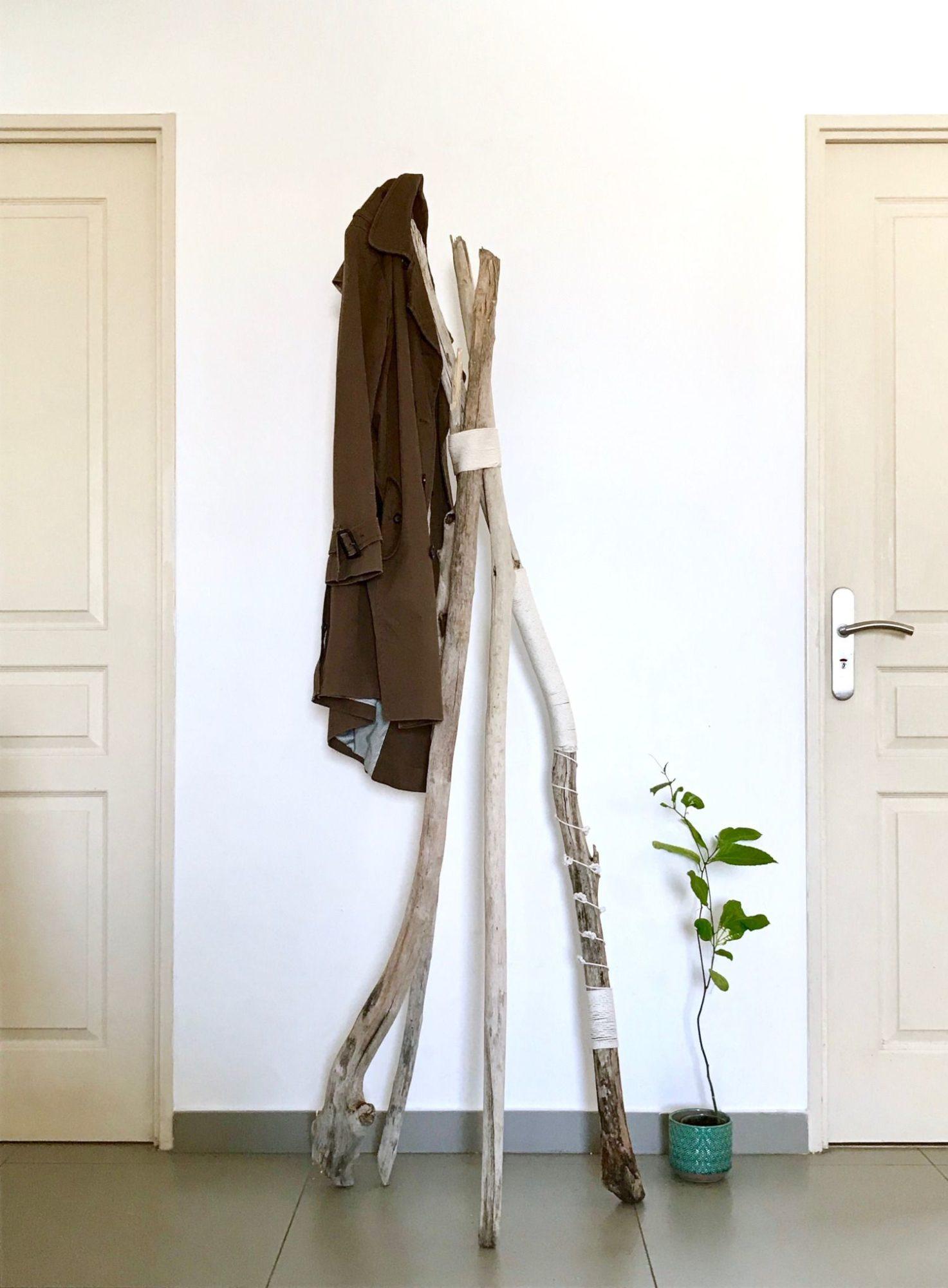 Bois Flotté Porte Photo tuto porte manteaux en frivolité - la tortue fait maison