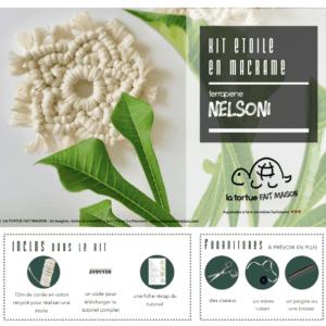 Kit Macramé – Etoile Nelsoni