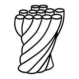 corde peignée