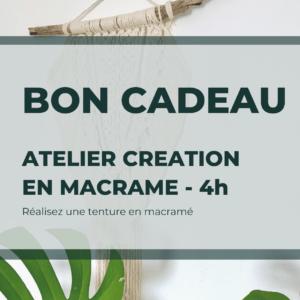 Bon cadeau Atelier CREATION 4h