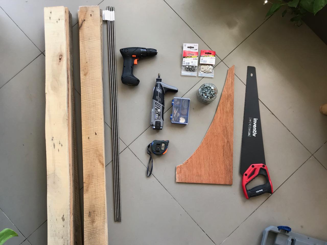 fourniture pour étagère DIY